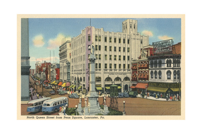 Penn Square, Lancaster Posters