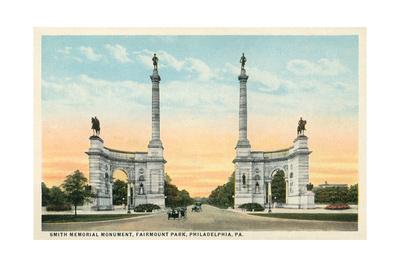Smith Memorial Monument, Philadelphia Prints