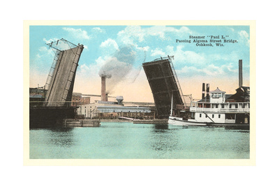 Algoma Street Bridge, Oshkosh Prints