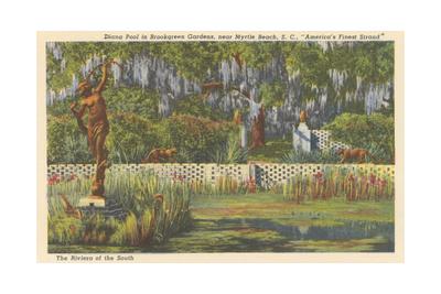 Brookgreen Gardens, Myrtle Beach Poster