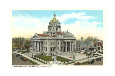 Somerset County Courthouse Poster
