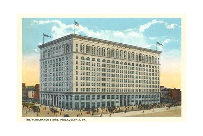 Wannamaker Department Store, Philadelphia Prints