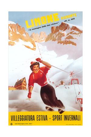 Travevl Poster for Limone Prints