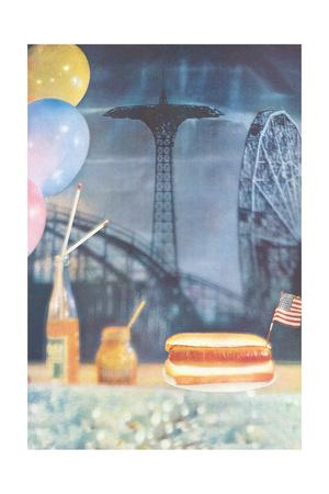 Amusement Park Fare Prints