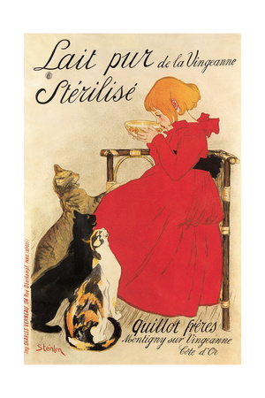French Milk Poster Posters