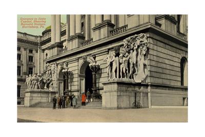 State Capitol Entrance, Harrisburg Prints