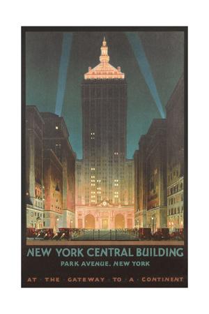 New York Travel Poster Prints