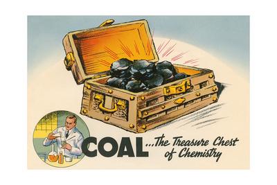 Coal, the Treasure Chest of Chemistry Prints