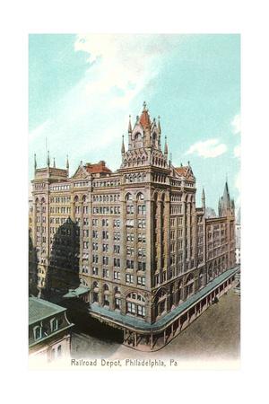 Railroad Depot, Philadelphia Prints