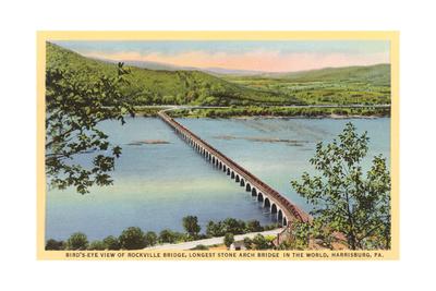 Rockville Bridge, Harrisburg Posters