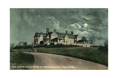 Sharpless Mansion, Westchester Art