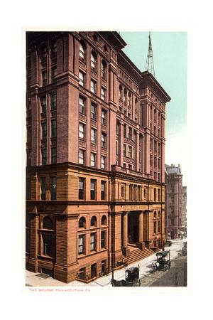 The Bourse, Philadelphia Prints