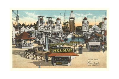 Luna Park, Cleveland Posters