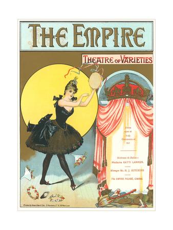 Vintage Playbill Foir Empire Theatre Prints