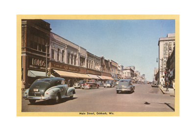 Main Street, Oshkosh Prints