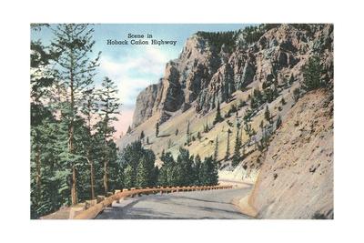 Hoback Canyon Highway Prints