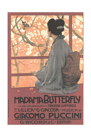 Madame Butterfly Poster Posters