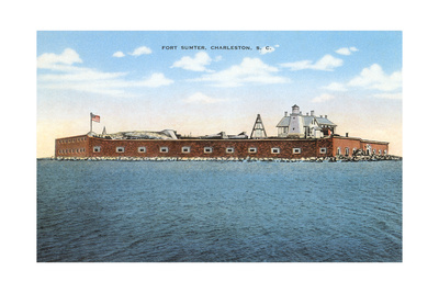 Fort Sumter, Charleston Posters