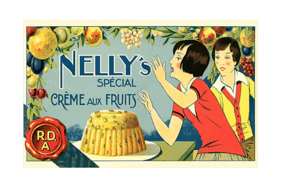 Nelly's Special Creme Aux Fruits Poster
