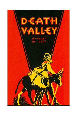 Death Valley, Valley of Life Art