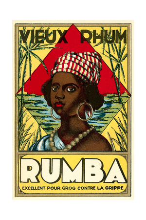 Vieux Rhum, Martinique Prints