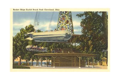 Ride, Euclid Beach Park, Cleveland Prints