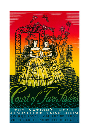 Court of Two Sisters, New Orleans Art