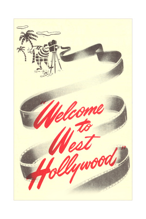 Welcome to West Hollywood Prints