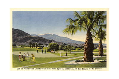Thunderbird County Club, Palm Springs Posters