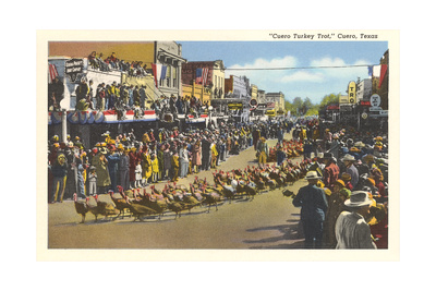 Turkey Trot, Cuero Posters