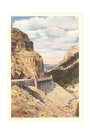 Golden Gate Canyon, Yellowstone Prints