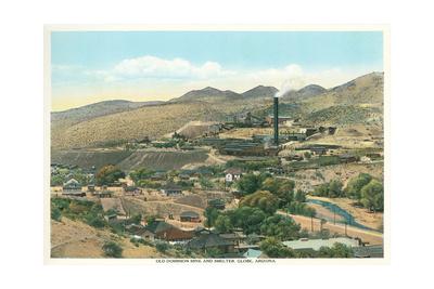 Old Dominion Mine, Globe, Arizona Posters