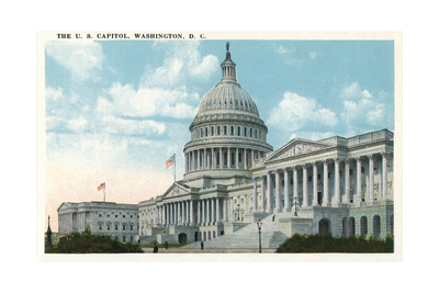 The US Capitol Kunst