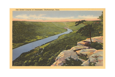 Grand Canyon of Tennessee, Chattanooga Prints