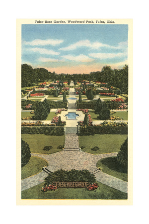 Tulsa Rose Garden Posters