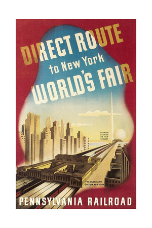 World's Fair Travel Poster Láminas