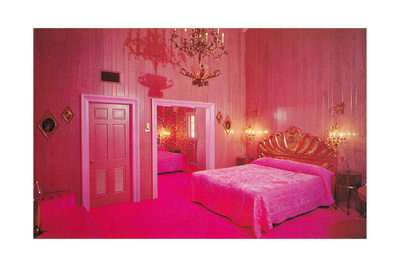 Hot Pink Fantasy Bedroom Pósters