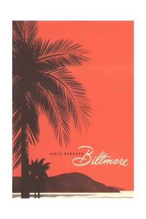 Travel Poster for Biltmore Hotel Art