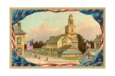 Independence Hall, Philadelphia Posters
