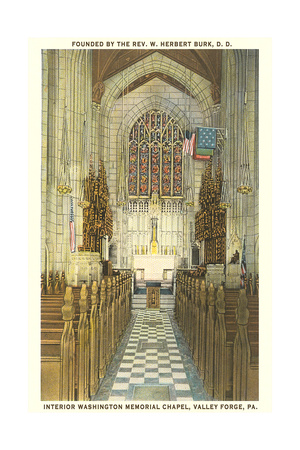 Memorial Chapel, Valley Forge Prints