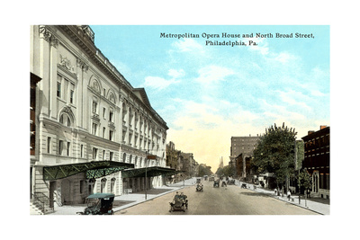 Metropolitan Opera House, Philadelphia Posters