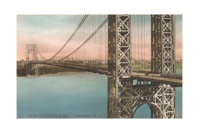 George Washington Bridge, Englewood Prints