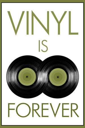 Vinyal is Forever Music Posters