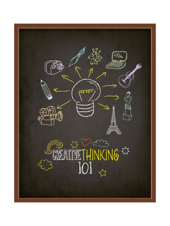 Creative Thinking 101 Posters by  LanaN.