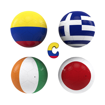 C Group of the World Cup Prints by  croreja