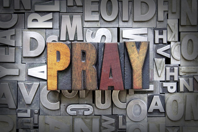 Pray Photographic Print by  enterlinedesign