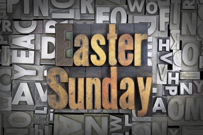 Easter Sunday Photographic Print by  enterlinedesign