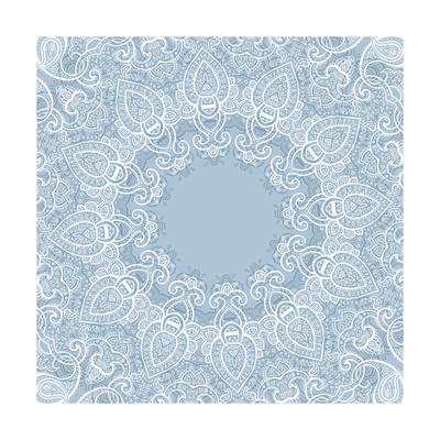 Lace Background: Mandala Poster by  Katyau