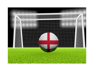 Soccer England Prints by  koufax73