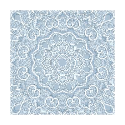 Lace Background: Mandala Prints by  Katyau